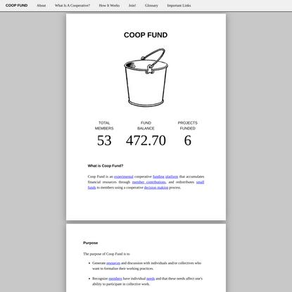 Coop Fund