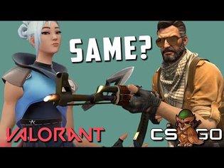 Valorant vs Counter-Strike Shooting & Movement