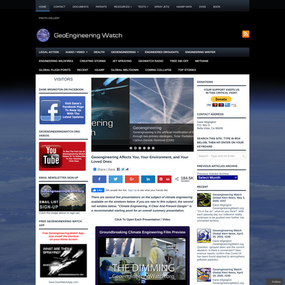 Geoengineering Affects You, Your Environment, and Your Loved Ones