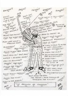 Golf swing compression