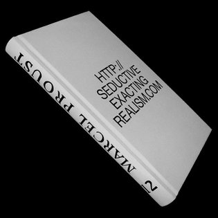 'Seductive Exacting Realism by Marcel Proust 12' by Irena Haiduk, published by @sternbergpress and @rensoc , design by @hell...
