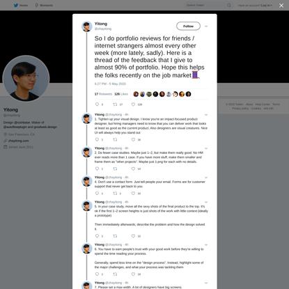 Yitong on Twitter