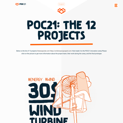 12 PROJECTS