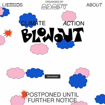 Climate Action Blowout