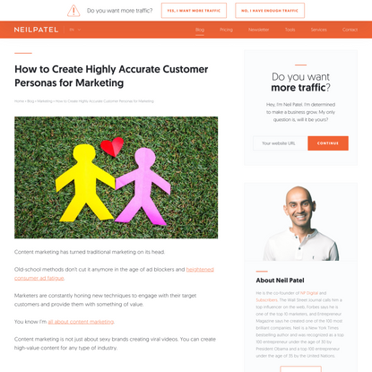 How to Create Highly Accurate Customer Personas for Marketing