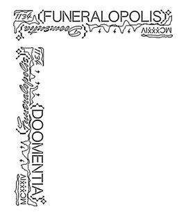 Typografie scraps from my thesis project. Funeralopolis / Doomentia / lolol #typography #graphicdesign
