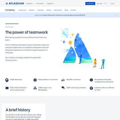 Development and Collaboration Software Company | Atlassian