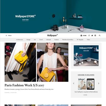 Wallpaper* Magazine: design, interiors, architecture, fashion, art   Wallpaper* Magazine