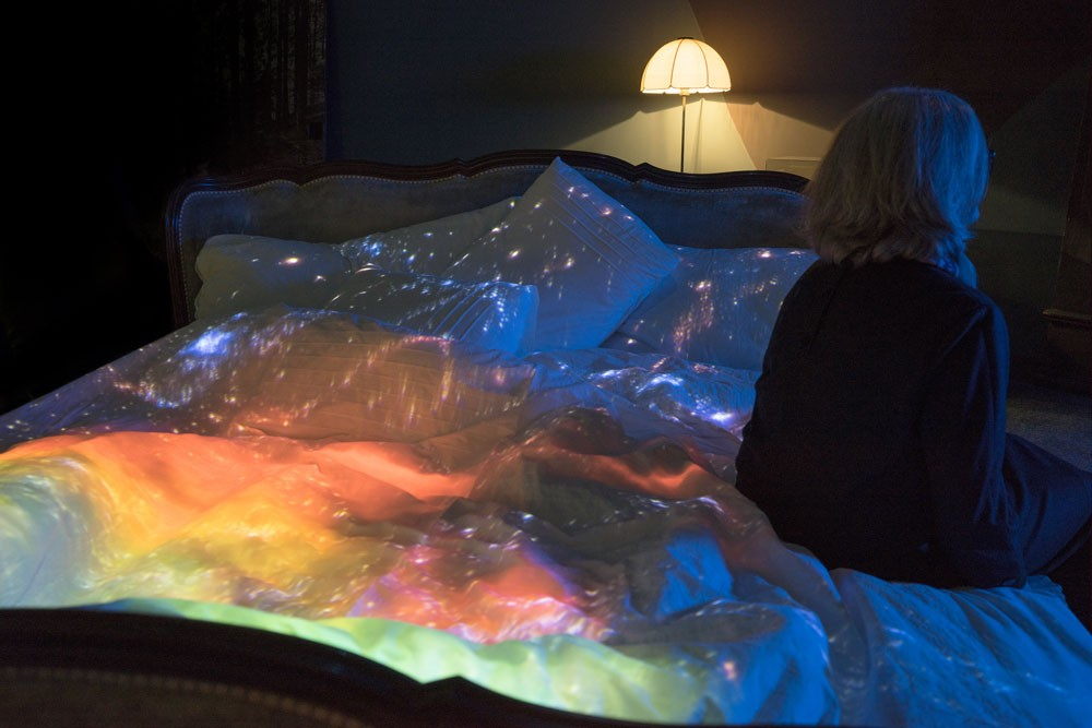 Pipilotti Rist, Do Not Abandon Me Again, 2015, installation view at Kunsthaus Zurich, 2016