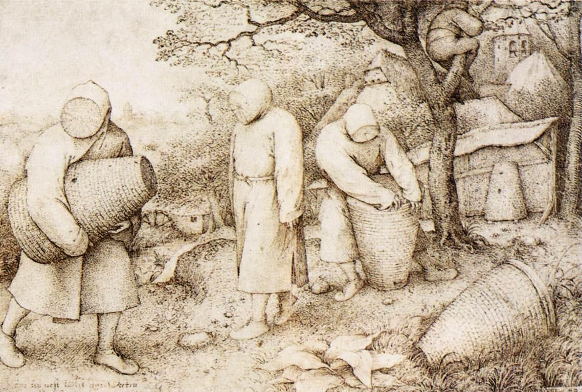 Pieter Bruegel the Elder, The Beekeepers and the Birdnester (~1568)