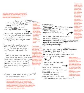 """quarantune"" Writing Process"