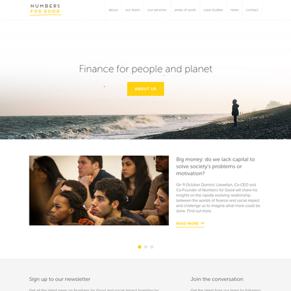 Numbers for Good | Finance for people and planet
