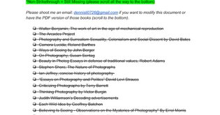 Photography Theory Books