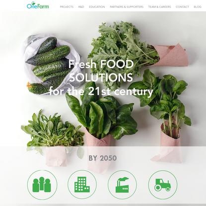 Food Safety | Vertical Farming | Amsterdam | OneFarm