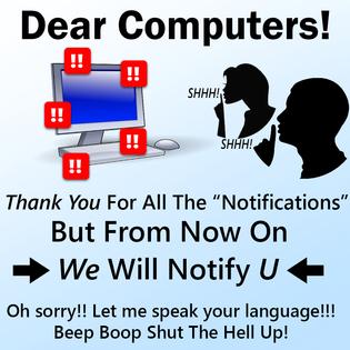 Dear Computers!
