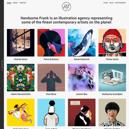 Handsome Frank Illustration Agency