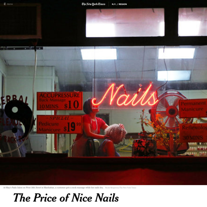The Price of Nice Nails