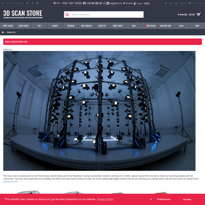 3D Scan Store