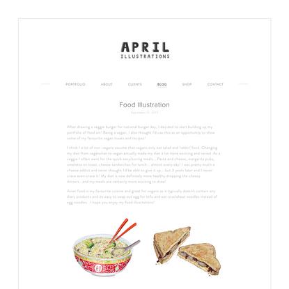 Food Illustration - April-Illustrations