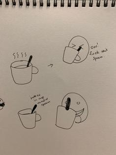 Tea Cup Spoon