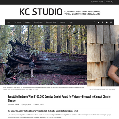 Jarrett Mellenbruch Wins $100,000 Creative Capital Award - KC STUDIO