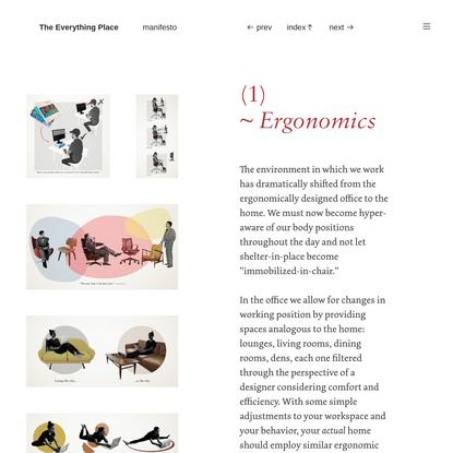 ergonomics - The Everything Place