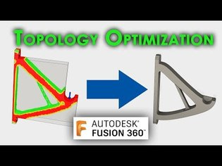 TUTORIAL: Topology Optimization in Fusion 360 - 3D printing filament spool holder