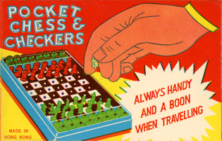 Pocket chess & checkers