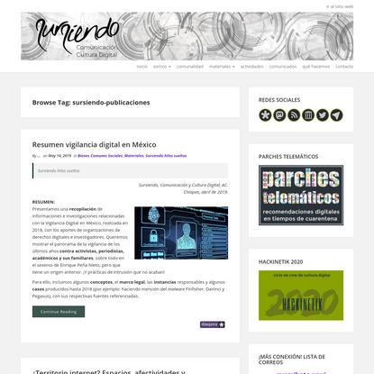 sursiendo-publicaciones | Sursiendo