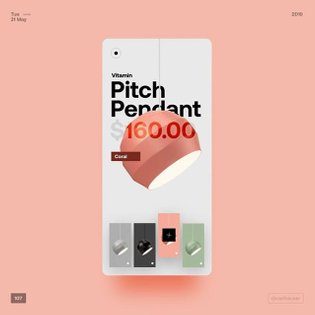 107 - lamps . . . All rights of the images by vitamin #ui #ux #color #userinterface #uiux #design #uiinspiration #uiuxdesign...
