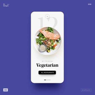 092 - restaurants . . . #ui #ux #color #userinterface #uiux #design #uiinspiration #uiuxdesign #uidesign #inspiration #webde...