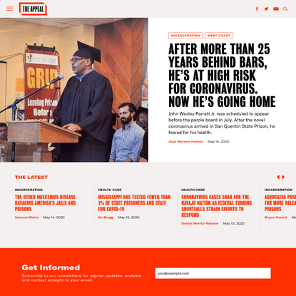 Home Page - The Appeal