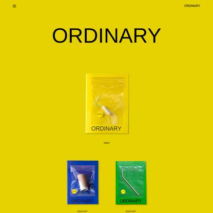 Ordinary Magazine