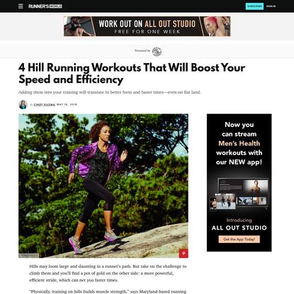 Hill Running: 4 Hill Workouts That Will Make You a Better Runner
