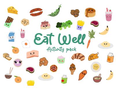 Eat Well activity box - Megan Morrish