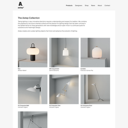 astep • products