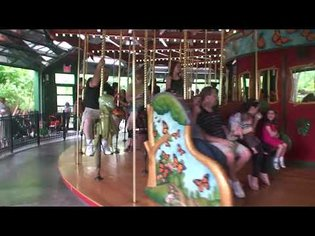 Bug Carousel at the Bronx Zoo in New York City