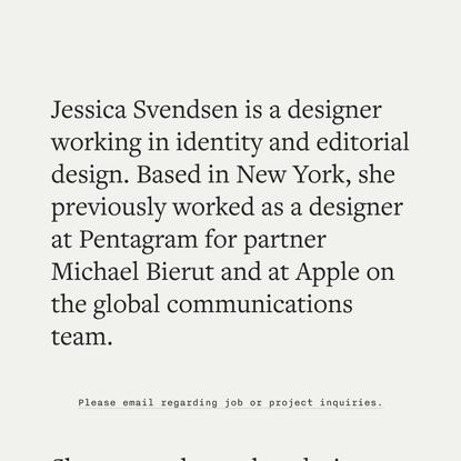 Jessica Svendsen