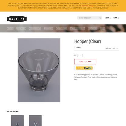 Hopper (Clear)