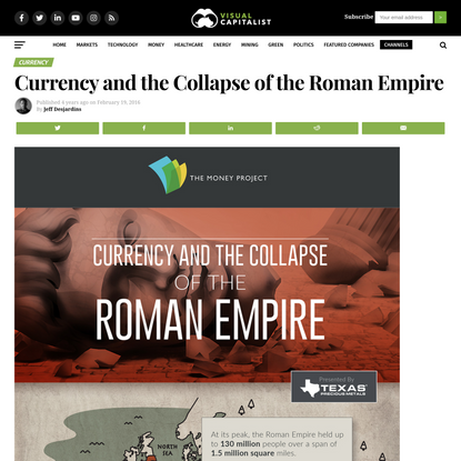 Currency and the Collapse of the Roman Empire