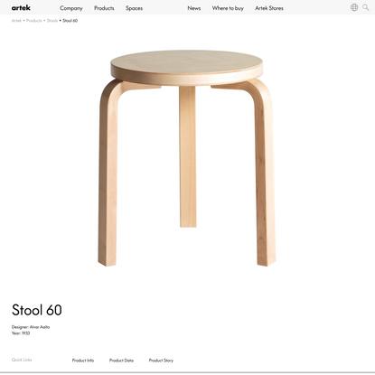 Artek - Stool 60