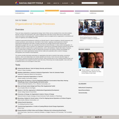 Strategies • Racial Equity Tools
