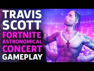 Travis Scott X Fortnite — Astronomical Concert Event