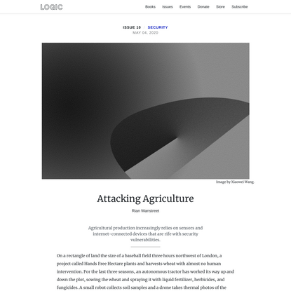 Attacking Agriculture