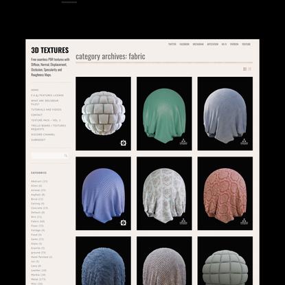 Fabric – 3D TEXTURES