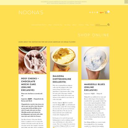 Shop - Noona's Ice Cream