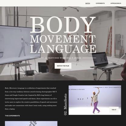 Body Movement Language