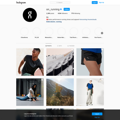 On (@on_running) • Instagram photos and videos