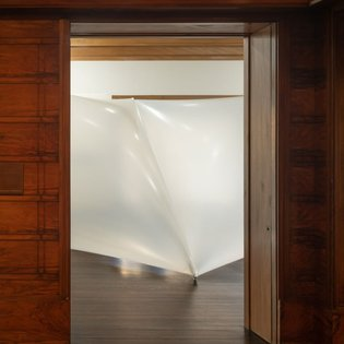 """Our current exhibition, """"Poured Architecture: Sergio Prego on Miguel Fisac,"""" is now extended through July 25, 2020. Our gall..."""