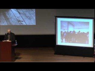 Robert Morris 2013 lecture-performance at the Logan Center